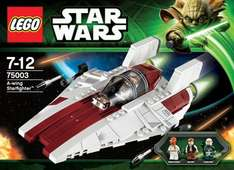 Lego Star Wars AWing Starfighter £8 in store only at Asda £19.99 most places