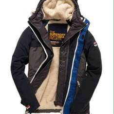 Half Price Men's Superdry Coats With Free Delivery at Superdry (See First Post For All Included)