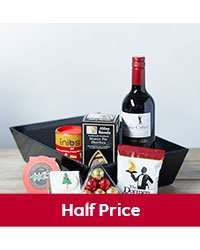 Tray of christmas treats was £35 now £15 free named day delivery & 7.5% Quidco  possible @ waitrose direct