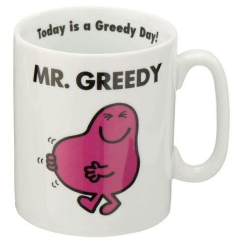 Mr Men Mr Greedy Large Porcelain Mug at Tesco Direct now £2