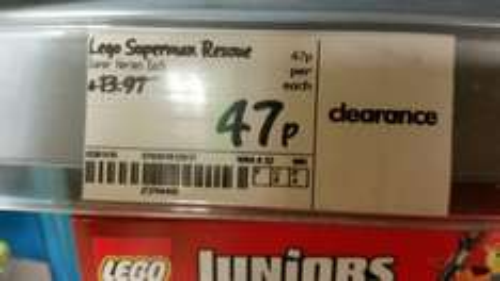 Lego Duplo Superman Rescue 47p @ Asda