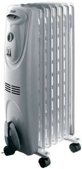 DeLonghi 1.5Kw Oil Filled Radiator White £35 was£60 @ Tesco direct