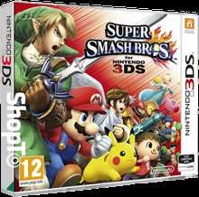 super smash bros 3ds £25.85 + 65p credit back on account @ ShopTo