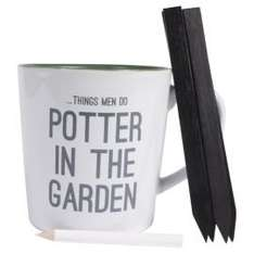 potter in the garden mug, pencil and plant label set £1.88 @ Tesco Direct