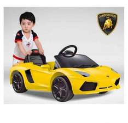 massG® Ride on car with parental Remote Control Lamborghini Aventador - Yellow £120 @ Amazon/Mass Global