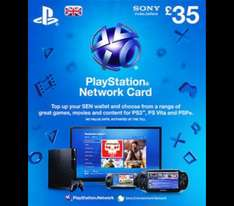 """£35 PSN Credit for £32 @ Tesco (£70 credit for £54 with """"new"""" customer voucher code)"""