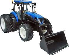 Big Farm New Holland T7050 Tractor - Toy, lights and sounds effects. £10 Tesco direct, Free collection in store. Less than half price.