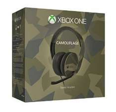 Stereo Headset Green Camo Edition Xbox One At Tesco £34