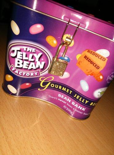 Jelly Bean Factory Bean Bank 300g 75p at Heatons (NI only!)