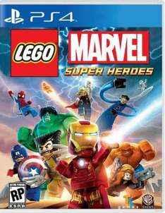 New Lego Marvel Super Heroes PS4 £15 (plus 2.99 delivery.) @ gameseek