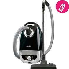 Miele Complete C2 Powerline Cylinder Vacuum Cleaner in Obsidian Black £126.99 @ co-operative electrical
