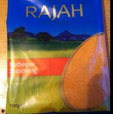 Rajah Barbeque Seasoning 100g for 10p from Morrisons.