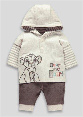 Boys Disney Simba Top And Jogging Bottoms Set (Newborn-18mths) Now £2.50 @ matalan