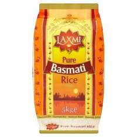 Laxmi Pure Basmati Rice(5kg) reduced to £5 from £9 @asda