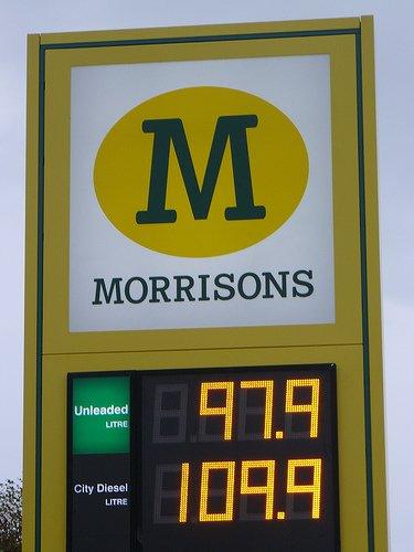 Petrol 97.9 Diesel 109.9p Morrisons Fuel @ Whiteheaven!