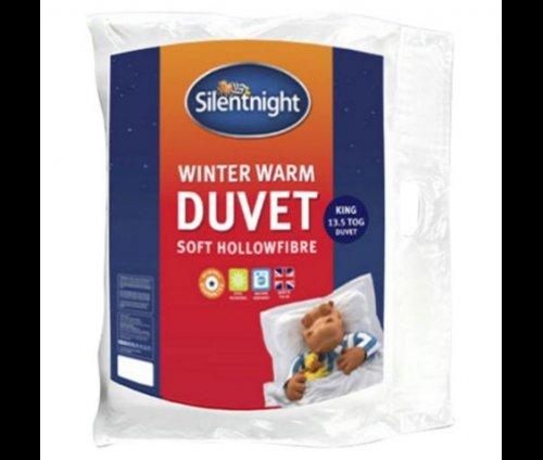 Silentnight Winter Warm13.5 Tog Duvet - Kingsize £17.00 at Tesco