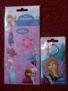 Disney Frozen Stickers 25p or Anna Keyring 75p instore @ Tesco Plymouth