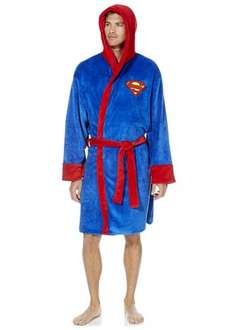 Superman dressing gown £8.00 reduced from £20 @ tesco f&f