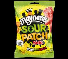 Maynards Sour Patch Kids (& others) 160g bag only 29p @ Home Bargains