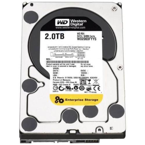 2TB 3.5 Inch SATA Western Digital Enterprise NAS Drives £55.99 @ sonnics-store / ebay