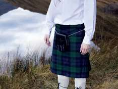 GOLD BROTHERS 8 Yard Kilt £29.99 at Lidl from 15/1/15