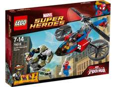 Lego Spider-Helicopter Rescue now £24.99 (Was £44.99) at Amazon