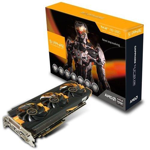 Sapphire AMD R9 290 TRI-X OC Graphics Card (4GB, HDMI, PCI-E) £215.50 @ Amazon