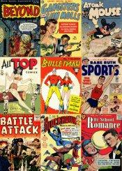 Free public domain comics (online) and forum etc.