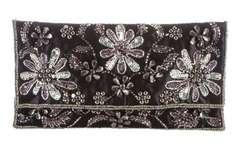 F&F Floral Embellished Clutch Bag at Tesco - originally £18 now £5