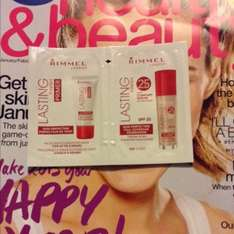 Free Sample Rimmel Primer & Lasting Finish Foundation in Ivory @ Boots in Magazine (Advantage card holders only)