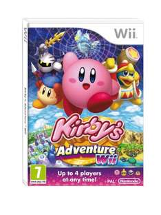 Kirby's Adventure Wii - £25.00 (£2.50 for Dispatch) @ CeX Online (Used)