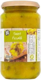 Sweet Piccalilli Morrisons own brand (475g) ONLY 15p @ Morrisons