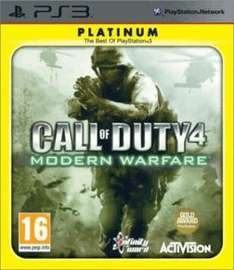 Call of Duty 4: Modern Warfare / Call Of Duty: Black Ops (PS3) £3 Each Delivered @ GAME (New)