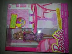 Barbie with dining room set £5 at tesco