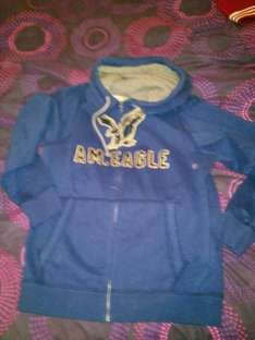 American Eagle Hoodie down from £38 too £10 + more offers @ American Eagle (Stratford)