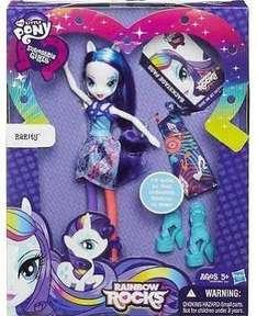 my little pony equestria rarity doll with accessories scanning at £5 in tesco instore