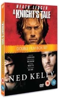 A Knight's Tale/Ned Kelly DVD Boxset (NEW) £1.99 Delivered from zoomonline @ eBay