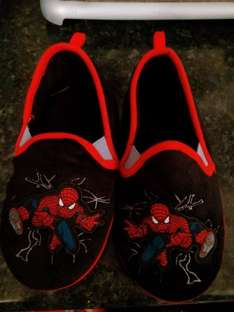 Spiderman slippers and cars £2.99 down from £14 Disney stores