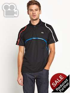 Lacoste Mens Stripe Detail Polo Free C&C. £41.60 @ Very