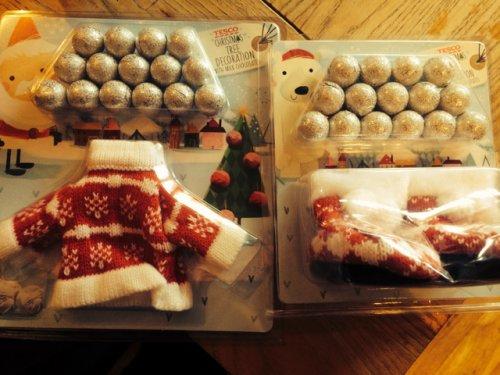 Tesco Christmas Tree Decorations 1p