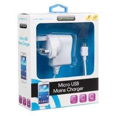 Micro USB Charger, B&M Stores  £2.99
