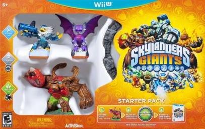 Skylanders Giants Starter Pack (Wii U) £9.99 Delivered @ Grainger Games