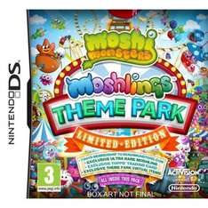 Moshi Monsters: Moshlings Theme Park - Limited Edition / Harry Potter and The Deathly Hallows - Part 1/ De Blob 2 (Nintendo DS) £2.95 Each Delivered @ TheGameCollection