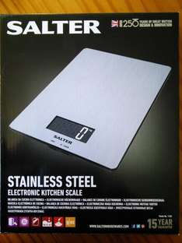 Salter Kitchen Scale Stainless Steel Model 1103 5Kg  @ Tesco - £12.50