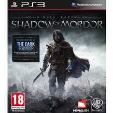 Middle-earth Shadow of Mordor, PS3 & Xbox 360 - £25.00 @ Tesco Online & in store