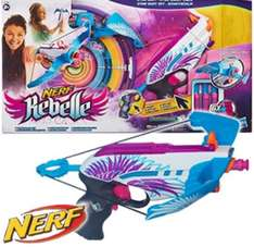 Nerf rebelle star shot - £7.99 @ Home Bargains (11.48 Delivered)