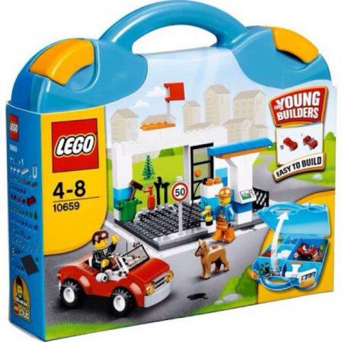 Lego blue Suitcase Tesco I store £5