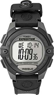 Timex Expedition Men's Digital Watch with LCD Dial Digital Display and Black Nylon Strap T40941 £11.52 @ Amazon