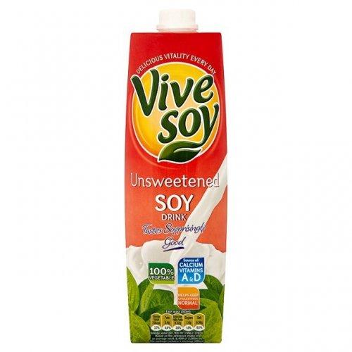 Vivesoy Soy Drinks (1L) was £1.25 now (BOGOF) @ Ocado