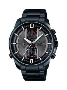 Casio Edifice Men's Quartz Watch with Grey Dial EFR-533BK-8AVEF £82.99 delivered @ Amazon. Back in Stock